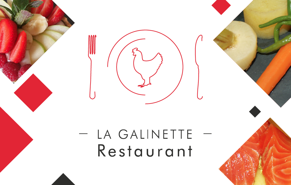 RESTAURANT LA GALINETTE REIMS Visuel Carte De Visite